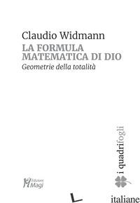 CERCHIO E IL QUADRATO (IL) - WIDMANN CLAUDIO