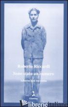 SONO STATO UN NUMERO. ALBERTO SED RACCONTA - RICCARDI ROBERTO