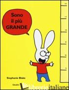 SONO IL PIU' GRANDE - BLAKE STEPHANIE