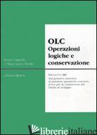 OLC OPERAZIONI LOGICHE E CONSERVATIVE - VIANELLO RENZO; MARIN M. LAURA