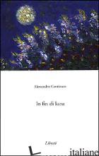 IN FIN DI LUNA - CENTINARO ALESSANDRO