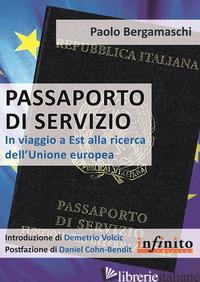 PASSAPORTO DI SERVIZIO - BERGAMASCHI PAOLO