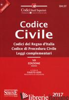 CODICE CIVILE. CODICI DEL REGNO D'ITALIA. CODICE DI PROCEDURA CIVILE. LEGGI COMP - IZZO F. (CUR.)