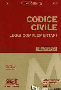 CODICE CIVILE. LEGGI COMPLEMENTARI. CON CONTENUTO DIGITALE PER DOWNLOAD E ACCESS - IZZO F. (CUR.)
