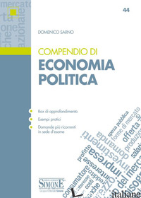 COMPENDIO DI ECONOMIA POLITICA - SARNO DOMENICO