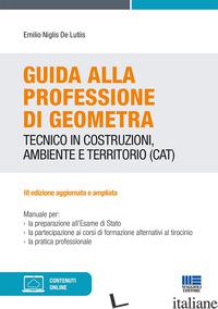 GUIDA ALLA PROFESSIONE DI GEOMETRA - NIGLIS DE LUTIIS EMILIO