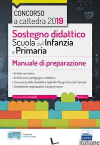 SOSTEGNO DIDATTICO SCUOLA DELL'INFANZIA E PRIMARIA. MANUALE DI PREPARAZIONE - CRISAFULLI V. (CUR.)