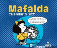MAFALDA. CALENDARIO DA TAVOLO 2021 - QUINO
