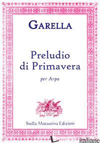 PRELUDIO DI PRIMAVERA PER ARPA - GARELLA DANIELE