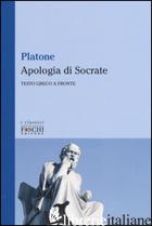 APOLOGIA DI SOCRATE. TESTO GRECO A FRONTE (L') - PLATONE; NANNINI S. (CUR.)