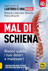 MAL DI SCHIENA. CON DVD VIDEO - LIEBSCHER-BRACHT ROLAND; BRACHT PETRA