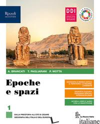 EPOCHE E SPAZI. CON COVID-19: EDUCAZIONE CIVICA E PANDEMIA. PER LE SCUOLE SUPERI - BRANCATI ANTONIO; PAGLIARANI TREBI; MOTTA PATRIZIA
