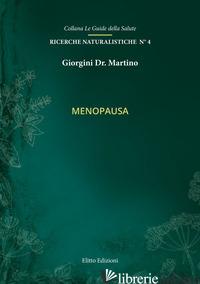 MENOPAUSA - GIORGINI MARTINO