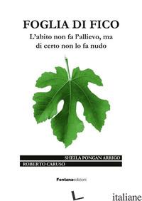 FOGLIA DI FICO - PONGAN ARRIGO SHEILA - CARUSO ROBERTO