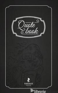 QUOTE BOOK -
