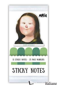LEONARO. STICKY NOTES -