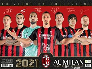 MILAN. CALENDARIO ORIZZONTALE 2021 -