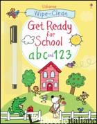 GET READY FOR SCHOOL ABC AND 123 - TAPLIN SAM