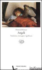 ANGELI. TRADIZIONE, IMMAGINE, SIGNIFICATO - KRAUSS HEINRICH