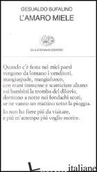 AMARO MIELE (L') - BUFALINO GESUALDO