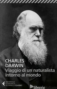 VIAGGIO DI UN NATURALISTA INTORNO AL MONDO - DARWIN CHARLES; COSTA P. (CUR.)