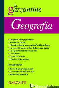 ENCICLOPEDIA DI GEOGRAFIA - AAVV