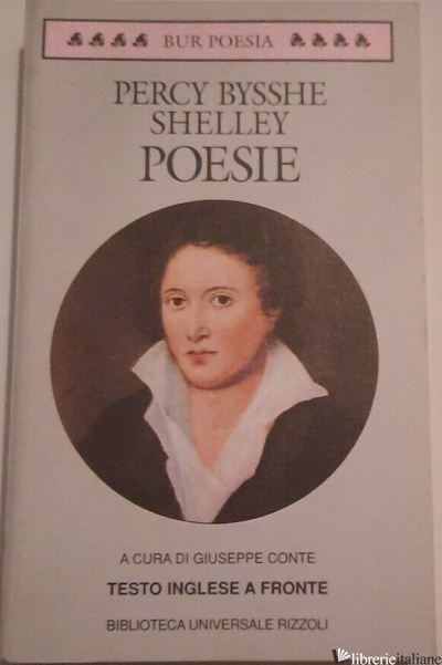 POESIE - SHELLEY PERCY BYSSHE; CONTE G. (CUR.)