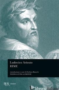 RIME - ARIOSTO LUDOVICO