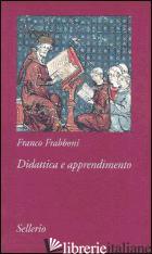 DIDATTICA E APPRENDIMENTO - FRABBONI FRANCO