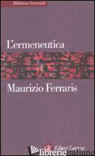 ERMENEUTICA (L') - FERRARIS MAURIZIO