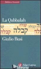 QABBALAH (LA) - BUSI GIULIO