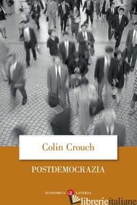 POSTDEMOCRAZIA - CROUCH COLIN