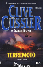 TERREMOTO - CUSSLER CLIVE; BROWN GRAHAM