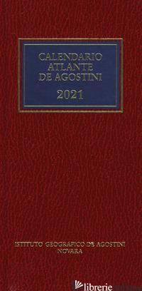 CALENDARIO ATLANTE DE AGOSTINI 2021. CON APPLICAZIONE ONLINE -