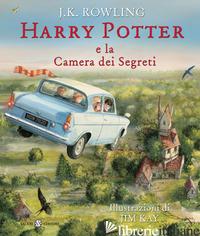 HARRY POTTER E LA CAMERA DEI SEGRETI. EDIZ. ILLUSTRATA. VOL. 2 - ROWLING J. K.; BARTEZZAGHI S. (CUR.)