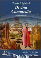 DIVINA COMMEDIA LETTO DA CLAUDIO CARINI. AUDIOLIBRO. CD AUDIO FORMATO MP3. EDIZ. - ALIGHIERI DANTE