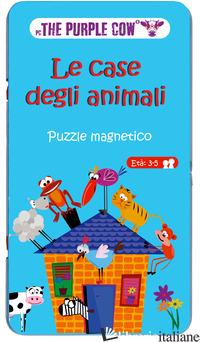 CASE DEGLI ANIMALI. PUZZLE MAGNETICO (LE) -