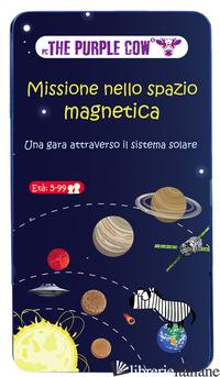 MISSIONE NELLO SPAZIO MAGNETICA. GIOCO MAGNETICO -