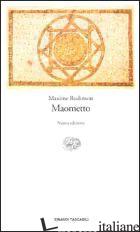 MAOMETTO - RODINSON MAXIME