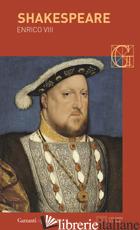 ENRICO VIII - SHAKESPEARE WILLIAM; COZZA A. (CUR.)