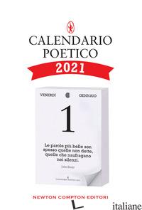 CALENDARIO POETICO 2021 -