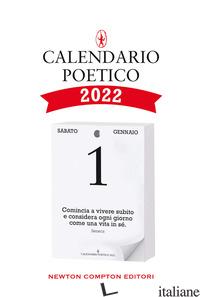 CALENDARIO POETICO 2022 - AA.VV.