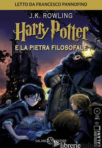 HARRY POTTER E LA PIETRA FILOSOFALE LETTO DA FRANCESCO PANNOFINO. AUDIOLIBRO. CD - ROWLING J. K.