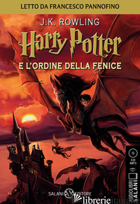 HARRY POTTER E L'ORDINE DELLA FENICE. AUDIOLIBRO. CD AUDIO FORMATO MP3. VOL. 5 - ROWLING J. K.; BARTEZZAGHI S. (CUR.)