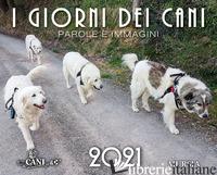 GIORNI DEI CANI. CALENDARIO 2021 (I) -