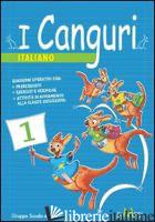 CANGURI. ITALIANO. PER LA 4ª CLASSE ELEMENTARE (I) - AA VV
